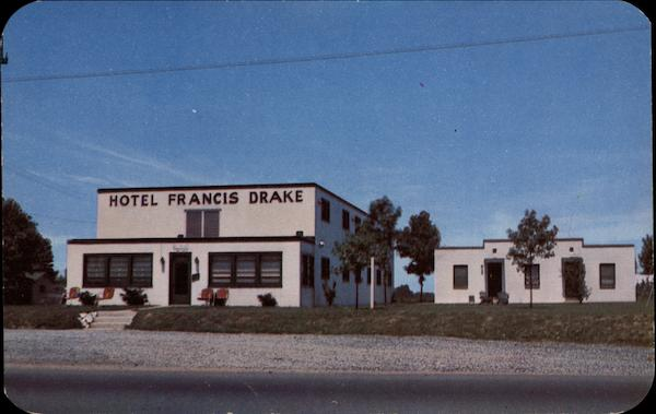 Francis Drake Hotel Motor Court and Cottages Wilmington Delaware
