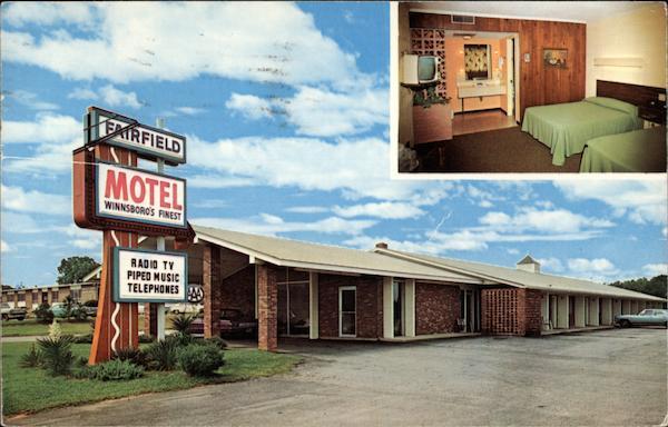Fairfield Motel Winnsboro Sc