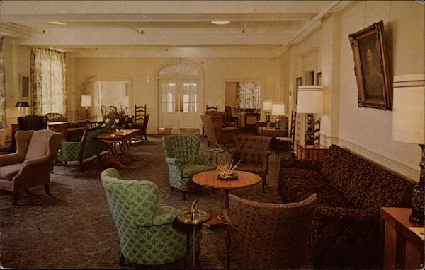 The Lobby, Boone Tavern Hotel Berea Kentucky