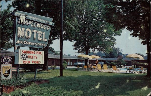 Maplewood Motel Greensboro North Carolina