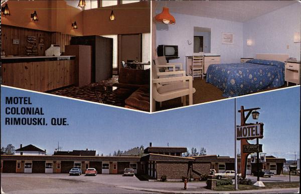 motel colonial rimouski qc canada quebec. Black Bedroom Furniture Sets. Home Design Ideas