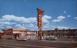 Imperial 400 Motel Postcard