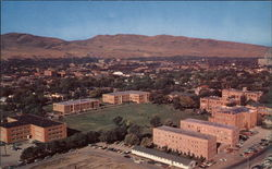 View of Idaho State College Campus and Business District