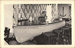 The Seaworthy Boat Bar in the Great Lakes Room Postcard