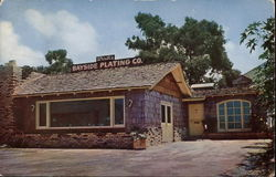Wirth's Bayside Plating Co. and Wirth's Antiques Postcard