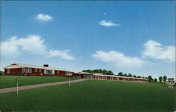 Wattstull Motel and Restaurant Postcard