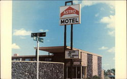 The Astro Motel in Lubbock
