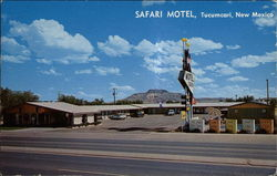 Safari Motel Postcard