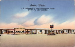 Adobe Motel, U.S. Highway 85 - South (Albuquerque Hiway)