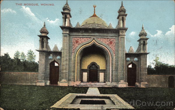 The Mosque Woking England