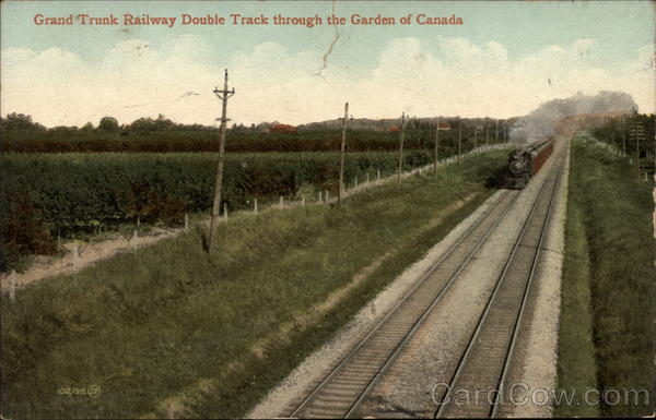 Grand Trunk Railway Double Track Canada Misc. Canada