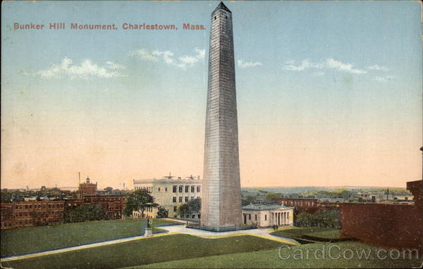 Bunker Hill Monument Charlestown Massachusetts