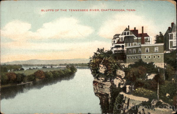 Bluffs of the Tennessee River Chattanooga