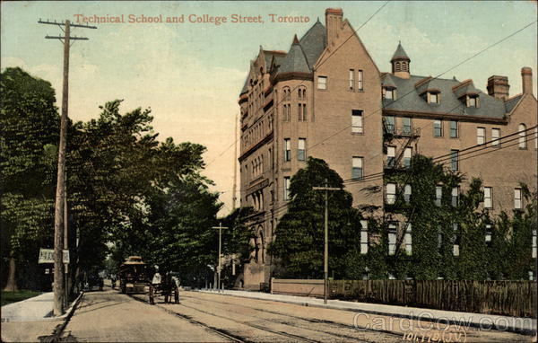 Technical School and College Street Toronto Canada