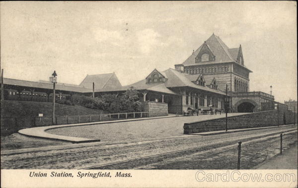 Union Station Springfield Massachusetts