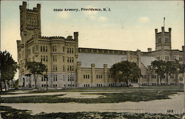 State Armory Providence Rhode Island