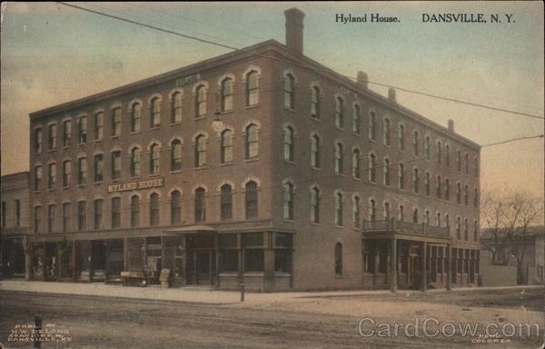Hyland House Dansville New York