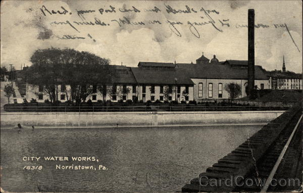 City Water Works Norristown Pennsylvania