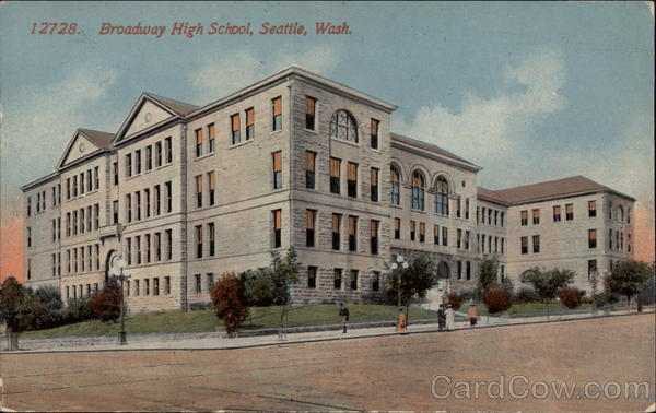 Broadway High School Seattle Washington