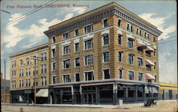First National Bank Cheyenne Wyoming