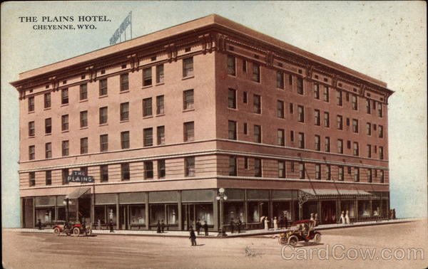 The Plains Hotel Cheyenne Wyoming
