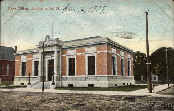 Post Office Jacksonville Illinois