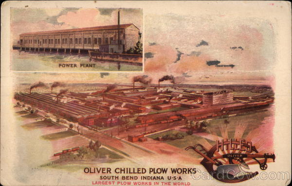 Oliver Chilled Plow Works South Bend Indiana