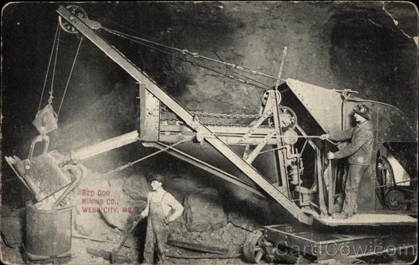 Red Dog Mining Co Webb City Missouri