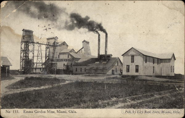 Emma Gordon Mine Miami Oklahoma