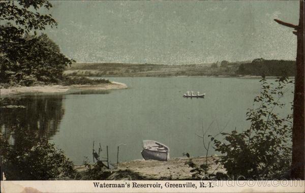 Waterman's Reservoir Greenville Rhode Island