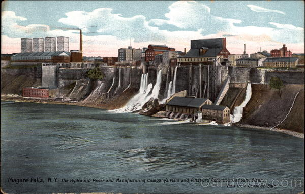 The Hydraulic Power and Manufacturing Company's Plant Niagara Falls New York