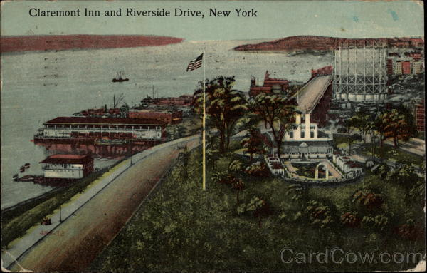 Claremont Inn and Riverside Drive New York