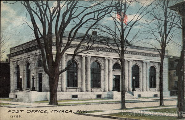 Post Office Ithaca New York