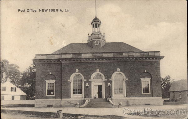 Post Office New Iberia Louisiana