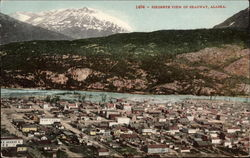 Birdseye view of Skagway