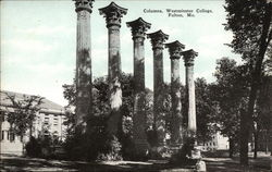 Columns, Westminster College Postcard