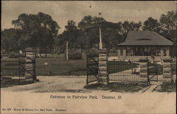 Entrance to Fairview Park