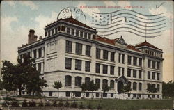 Main Educational Building Postcard