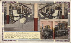 Our Large Pressroom, Sears, Robuck and Co Postcard