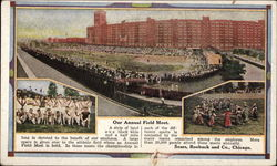 Our Annual Field Meet; Sears, Roebuck and Co Postcard