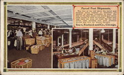 Parcel Post Shipments, Sears, Roebuck and Co Postcard