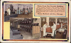 Views from Our Grocery Building, Sears, Roebuck and Company Postcard