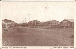 Looking East on California Ave., Camp Lewis