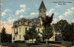 Ripon College - Bartlett Hall Postcard