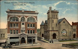 Masonic Temple and Christian Church