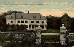 Rear View of Robert W. Chambers Residence