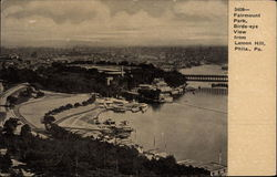 Fairmount Park, Birds-Eye View from Lemon Hill