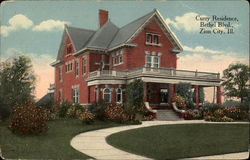 Curry Residence, Bethel Blvd Postcard
