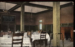 Partial View of Dining Room, Plaza Hotel
