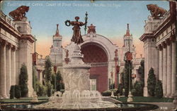 Fountain of Ceres, Court of Four Seasons, Pan.Pac.Intl.Exp
